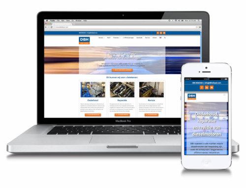 DBH Diesel Engines corporate website