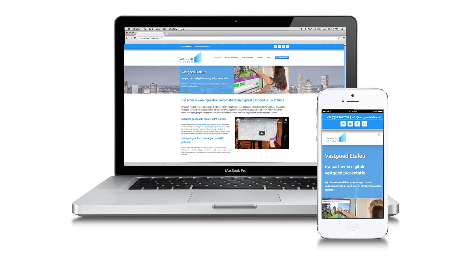Vastgoed Etaleur corporate website