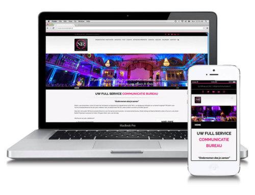 NR Communicatie & Events corporate website